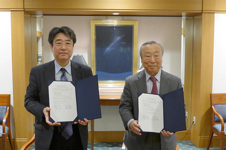 Signing of a cooperation agreement with the Keio University Law School